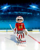 Playmobil Playmobil 5074 LNH Gardien de but de hockey Blackhawks de Chicago (NHL) (oct 2015) 4008789050748