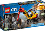 LEGO LEGO 60185 City L'excavatrice avec marteau-piqueur 673419281454