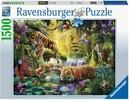 Ravensburger Casse-tête 1500 Tigre plan d'eau 4005556160051
