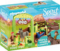 Playmobil Playmobil 70120 Spirit La Meche et M. Carotte avec box 4008789701206