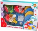 Playgo Toys Cuisinière de table, batterie de cuisine 191162024154