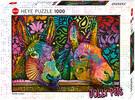 Heye Casse-tête 1000 Donkey Love, Jolly Pets 4001689299378