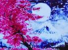 Diamond Dotz Broderie diamant Cerisier en fleur sur fond de montagne (Cherry Blossom Mountain) Diamond Dotz (Diamond Painting, peinture diamant) 4897073243658