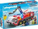 Playmobil Playmobil 5337 Camion de pompiers avec son et lumières de l'aéroport 4008789053374