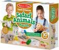 Melissa & Doug Ensemble piste et sauvetage animaux safari, éléphant, lion et rhinocéros en peluche Melissa & Doug 8543 000772085434