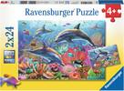Ravensburger Casse-tête 24x2 Monde sous-marin multicolore 4005556090174