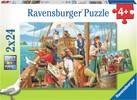 Ravensburger Casse-tête 24x2 Chez les pirates 4005556090198