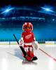 Playmobil Playmobil 5076 LNH Gardien de but de hockey Red Wings de Détroit (NHL) (oct 2015) 4008789050762