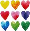 Diamond Dotz Broderie diamant Coeurs aux couleurs arc-en-ciel (Love Rainbow) Diamond Dotz (Diamond Painting, peinture diamant) 4897073246321