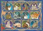 Jumbo Casse-tête 1000 Chats horoscope 8710126188538