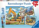 Ravensburger Casse-tête 49x3 Grands véhicules de construction 4005556092260