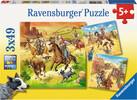 Ravensburger Casse-tête 49x3 À I'ouest sauvage 4005556092505