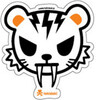 tokidoki autocollant Tiger face 818310029310