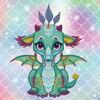 Diamond Dotz Broderie diamant ariel petit dragon- Diamond Dotz 4895225918737