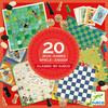 Djeco 20 Jeux Classiques (fr/en) 3070900052192