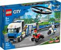 LEGO LEGO 60244 Le transport de l'hélicoptère de la poli 673419318723