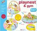 Galt Toys Playnest coussin gonflable matelassé d'activités et gym 3 en 1 (beigne/tube) 5011979578532