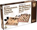 Gladius Jeux d'échecs, dame et backgammon bois 620373060632