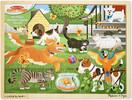 Melissa & Doug Casse-tête 24 animaux de compagnie en bois Melissa & Doug 9059 000772190596