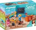 Playmobil Playmobil 70121 Spirit Mlle Kate Flores et salle de classe 4008789701213