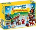 Playmobil Playmobil 5497 Calendrier de l'Avent 1.2.3 Noël dans la forêt (sep 2015) 4008789054975