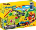 Playmobil Playmobil 70179 1.2.3 Train avec passagers 4008789701794