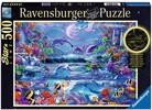 Ravensburger Casse-tête 500 La magie du clair de lune 4005556150472