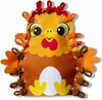 Melissa & Doug Loop It! Preschool Craft Kit - Farm Puppets Melissa & Doug 40194 000772401944