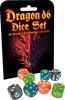 Dés 8xd6 Dragon dice set (multicolor) 080742096615
