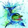 Diamond Dotz Broderie diamant Dauphin (Flipper) Diamond Dotz (Diamond Painting, peinture diamant) 4897073244730