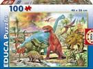 Educa Borras Casse-tête 100 pièces - Dinosaures 8412668131798
