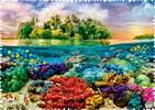 Trefl Casse-tête 600 Silhouette - Îles Tropicales 5900511111132