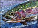 SunsOut Casse-tête 1000 Vitrail truite arc-en-ciel (Stained Glass Rainbow Trout) SunsOut 70711 796780707115