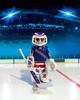 Playmobil Playmobil 5081 LNH Gardien de but de hockey Rangers de New York (NHL) (oct 2015) 4008789050816
