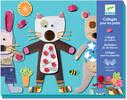 Djeco Collages des petits Petits animaux (fr/en) 3070900086647