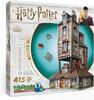 Wrebbit Casse-tête 3D Harry Potter Le Terrier La maison des Weasley (415pcs) 665541010118