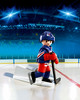 Playmobil Playmobil 5082 LNH Joueur de hockey Rangers de New York (NHL) (oct 2015) 4008789050823