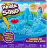 Kinetic Sand Kinetic Sand bac et moules à sable bleu (sable cinétique) 778988181362