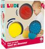 LUDI LUDI - 3 balles sensorielles 3550833300084