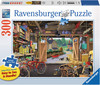 Ravensburger Casse-tête 300 Large Le garage de grand-papa 4005556135783