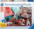 Ravensburger Casse-tête 300 Large Chiots polissons 4005556135790