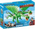 Playmobil Playmobil 9458 Dragons Kognedur et Kranedur avec Burp et Barf 4008789094582