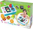 Playgo Toys Playgo cuisinière 2 en 1, batterie de cuisine, service de vaisselle 27 pièces 191162036041