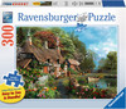 Ravensburger Casse-tête 300 Large Chalet sur un lac 4005556135806