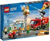 LEGO LEGO 60214 L'intervention des pompiers au restauran 673419303026