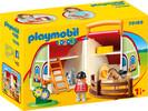 Playmobil Playmobil 70180 1.2.3 Centre équestre transportable 4008789701800