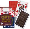 Piatnik Cartes à jouer bridge 4 index opti (unité) (varié) 9001890140211