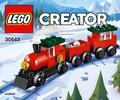 LEGO LEGO 30543 Creator Train de Noël en sachet 673419283816