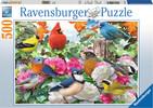 Ravensburger Casse-tête 500 Oiseaux de jardin 4005556142231