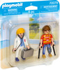 Playmobil Playmobil 70079 Duo Médecin et patient 4008789700797